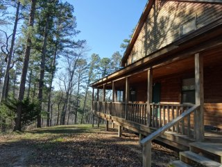 Bluff View Cabin sleeps 22  over White River Valley with wifi - Mountain View vacation rentals