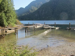 Secluded off-grid Coastal Fjord with beach & endless West Coast Rainforest - Pitt Meadows vacation rentals