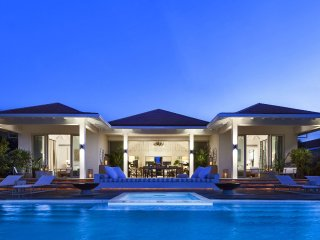 Secluded Turks and Caicos Luxury Beachfront Villa in Grace Bay Club - Grace Bay vacation rentals