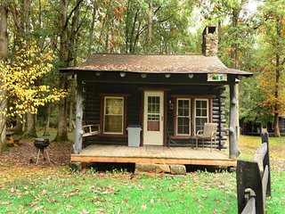 Intimate and inviting, Swallow Falls Inn Cabin 1 echoes with the wild resonance of the woods and weaves a spell as enchanting as the waterfalls around the corner! - Oakland vacation rentals