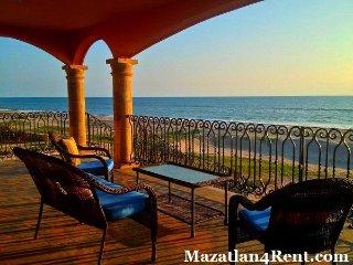 Mazatlan Beach Front Home / Estrella del Mar - Isla de la Piedra vacation rentals