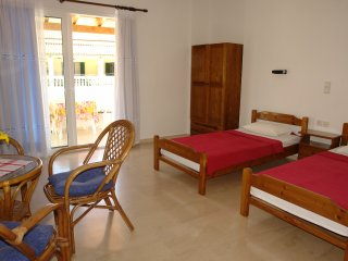 Luxury studio, 50 meters from the beach & center for  2-3 p - Agios Gordios vacation rentals