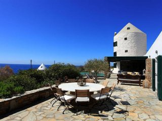 Windmill villa with breathtaking sunsets and pool - Koundouros vacation rentals