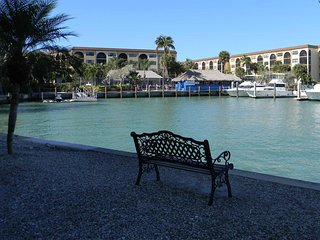 Great location, on premises Marco's Dolphin Tiki Bar! A favorite hot spot - Marco Island vacation rentals