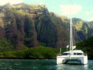 Nice Yacht with Deck and Housekeeping Included - Taiohae vacation rentals