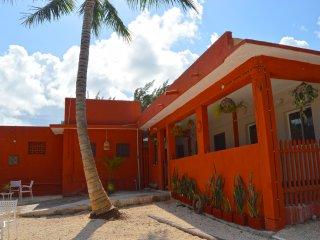 CASONA ROJA SUITE 1 Puerto Morelos GREAT LOCATION ! - Puerto Morelos vacation rentals