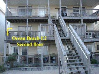 OC Md family condo,  2nd floor view of the ocean, sleeps 8- OCEAN BEACH - Ocean City vacation rentals