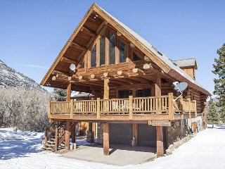 Custom Built Log Home on 3 Acres - Covered Decks - Fire Pit and Pool Table - Ridgway vacation rentals