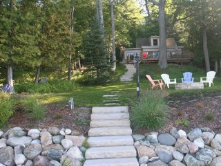 Cottage on Lake Charlevoix  with dock and boatlift - East Jordan vacation rentals
