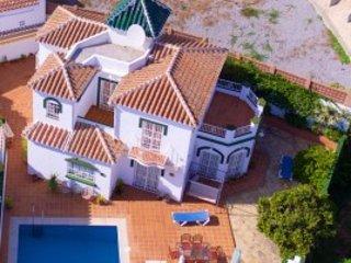 Casa Isabella Punta Lara Nerja overlooking the ocean - Nerja vacation rentals