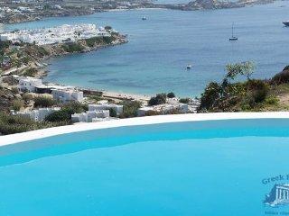 Villa in Mykonos : Psarrou Area Villa Roxana - Psarou vacation rentals