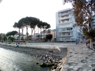 Large 3 Bed Apartment directly on the Beach - Germasogeia vacation rentals