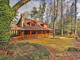 NEW! 5BR Sapphire Cabin w/ Fire Pit & Game Room! - Sapphire vacation rentals