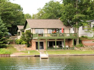 Clear lake Resort  Lake Front Home - Cabin Ten - West Branch vacation rentals