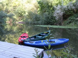 Sunny Riverfront 3 Bdrm w/Hot Tub and Kayaks - Guerneville vacation rentals