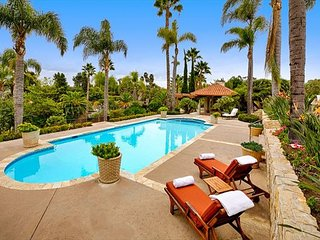 Sprawling country estate with pool, tennis court, and beach volleyball court! - Rancho Santa Fe vacation rentals