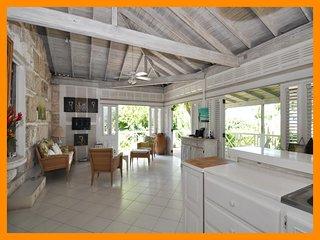 Stunning 2 Bed Beachfront Cottage with Ocean Views - The Garden vacation rentals