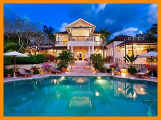 Beautiful 6 bedroom home on the platinum West Coast of Barbados, with private pool. Ideal for family getaways. - The Garden vacation rentals