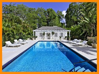 Beautiful 5 bedroom Barbados home, set within gorgeous gardens close to the beach. Private swimming pool, stunning sunset views - Porters vacation rentals