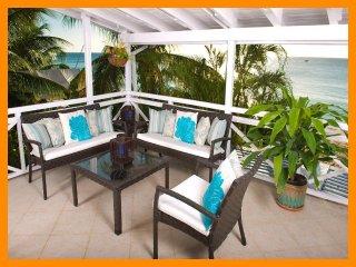 Luxury 2 Bedroom Beachfront Apartment - Paynes Bay vacation rentals