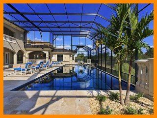 Amazing high end 9 bed, library, home cinema, gym, poker room, huge pool with hot tub - Reunion vacation rentals