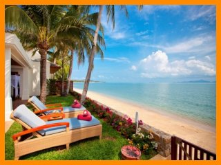 5087 - Beachfront luxury with Thai chef service and shared gym - Mae Nam vacation rentals