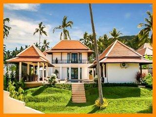 2024 - Walk to beach splash drink eat sleep walk to villa jump in pool - Bophut vacation rentals
