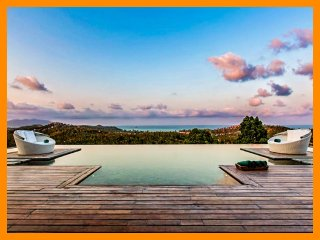 5078 - Seaview luxury with Thai chef service and spa therapist - Bophut vacation rentals