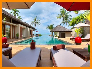 5184 - Beachfront luxury continental breakfast included - Chaweng Noi Beach vacation rentals