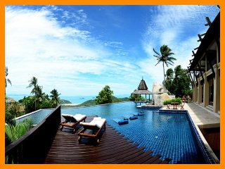 4185 - Seaview luxury with Thai chef service and spa facilities - Thong Krut vacation rentals