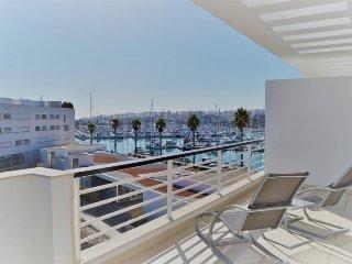 Lagos Marina 3 bedroom with A/C, views & pool access - Lagos vacation rentals