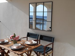 Stunning views from sunny terrace  Chez Rive Gauche Marseillan port - Marseillan vacation rentals