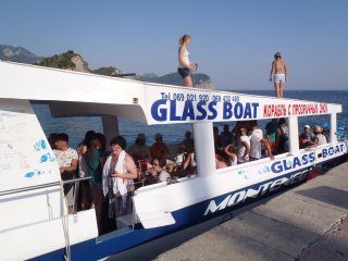 """TAXI - GLASS BOAT ,,MONTENEGRO STAR"""" - Petrovac vacation rentals"""