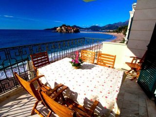 Dream beachfront apartment on Sveti Stefan #BF - Sveti Stefan vacation rentals