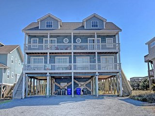 Island Drive 3938 Oceanfront! | Internet, Pet Friendly - North Topsail Beach vacation rentals