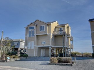 S. Shore Drive 1710 Oceanfront! | Internet, Fireplace, Hot Tub, Pet Friendly - Surf City vacation rentals