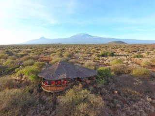 Comfortable Tented camp with Deck and Outdoor Dining Area - Amboseli National Park vacation rentals