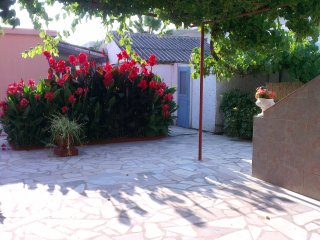 Double bedroomed ground floor apartment w/family balcony at Yanna's Apts - Peroulades vacation rentals