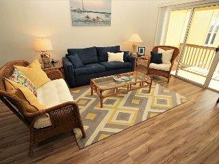 Surf Condo 636 - Wonderful Ocean View, Beachy Chic Decor, Pool, Beach Access - Surf City vacation rentals