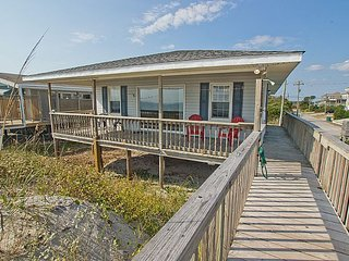 The Choice - Superb Oceanfront View, Traditional Cottage, Simple & Serene - Surf City vacation rentals