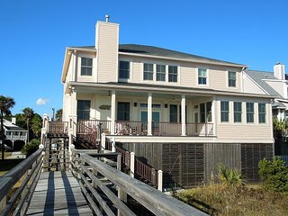 Blue Waters - Spacious Home with Views of the Pier - Folly Beach vacation rentals