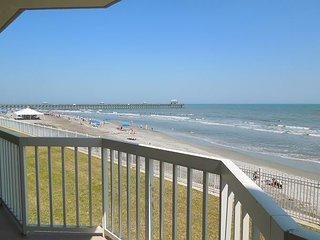 Charleston Oceanfront Villas 112 - First Floor Oceanfront Condo - Folly Beach vacation rentals