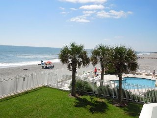 Charleston Oceanfront Villas 120 - Spacious Oceanfront Condo on 1st Floor - Folly Beach vacation rentals