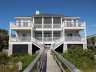 Hakuna Matata - Large Oceanfront Home with Great Amenities - Folly Beach vacation rentals