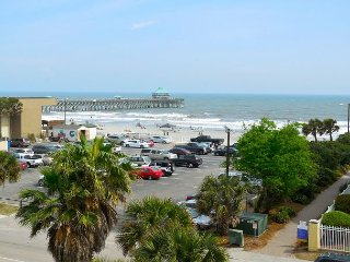 Pier Pointe Villas C301 - Great Top Floor View - See Dolphins and Surfers - Folly Beach vacation rentals