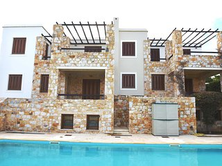 'Plagia Villas', House 140m² with pool - Finikas vacation rentals