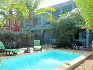 Contemporary Caribbean Townhome with Private pool on Orient Beach - Orient Bay vacation rentals