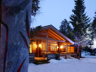 Comfortable Cabin with Hot Tub and Television - Luosto vacation rentals