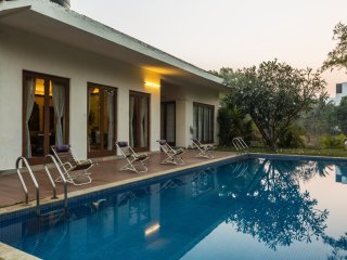SaffronStays 9 Palms - Luxury private pool villa in Alibaug - Alibaug vacation rentals