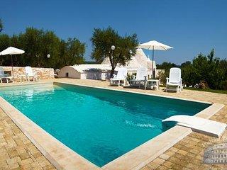 Villa in Puglia : Martina Franca Area Trullo Nova - Casalini di Cisternino vacation rentals